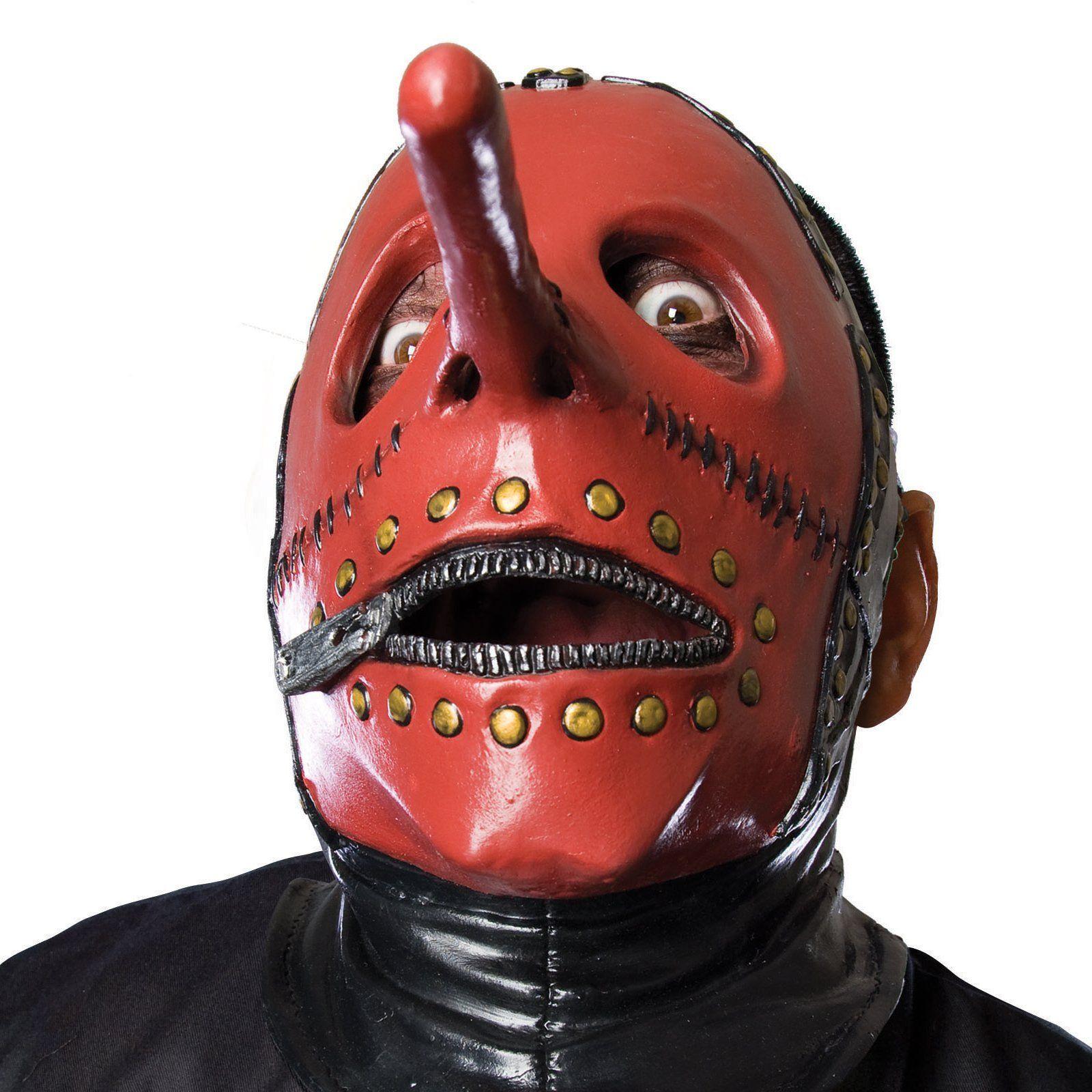Slipknot Chris Mask #3 Mr. Picklenose Metal Goth Costume Halloween ...
