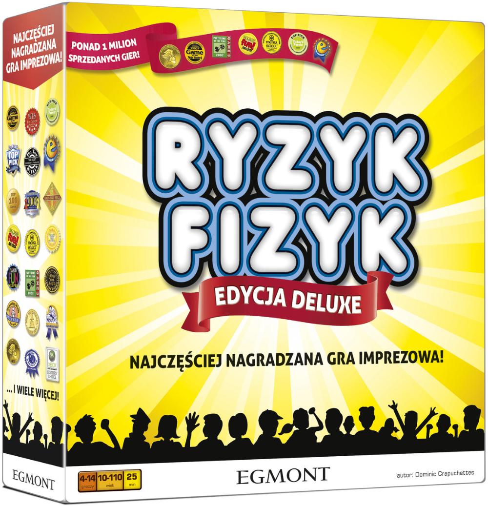 Egmont Gra Planszowa Ryzyk Fizyk Cereal Pops Egmont Pops Cereal Box