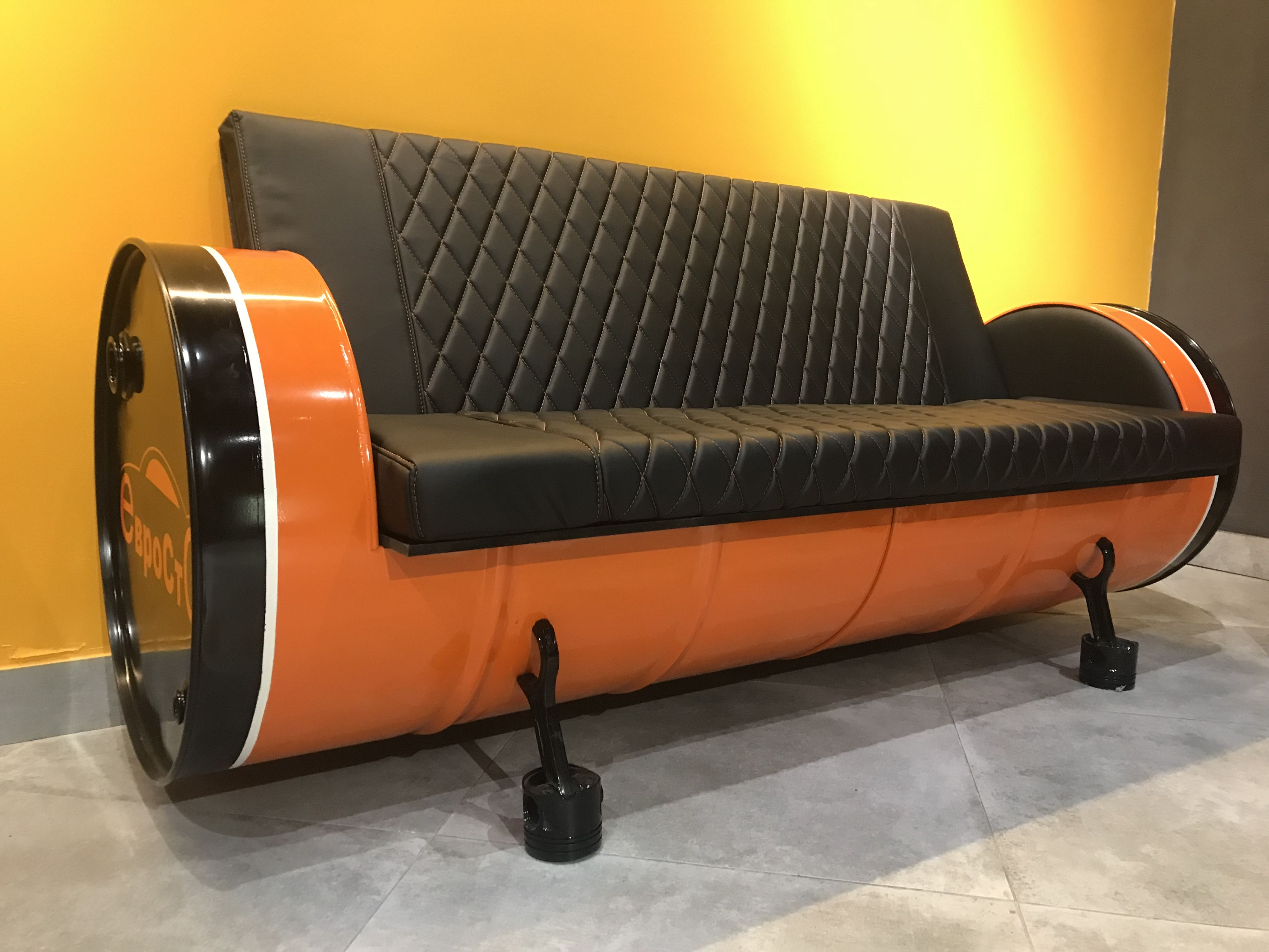 Fass Sessel Anleitung Oil Drum Sofa Instagram Oildrum Design In 2019
