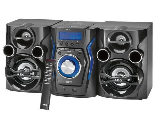 stereoanlage mit cd mp3 radio usb aux in und. Black Bedroom Furniture Sets. Home Design Ideas