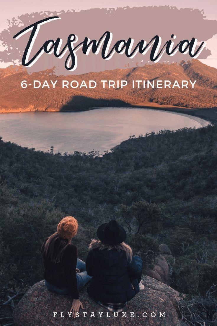 6Day Tasmania Winter Road Trip Itinerary Tasmania road
