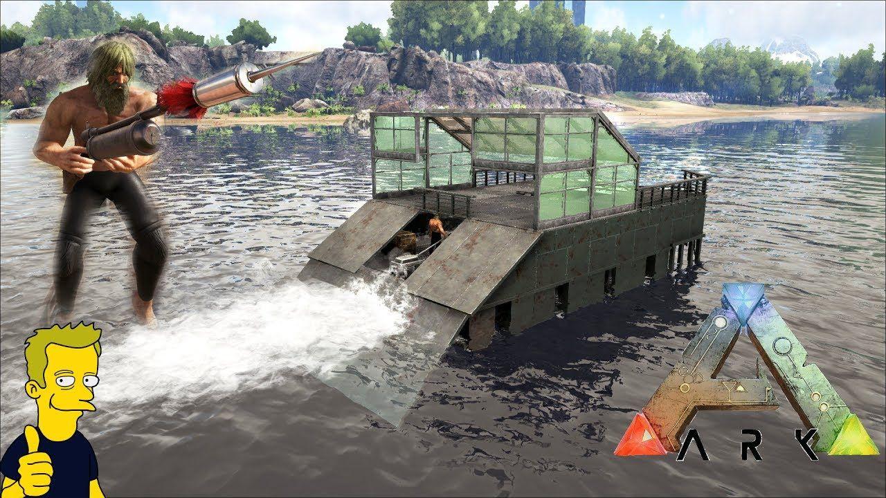 Ark motorboat build harpoon gun patch 258 video games ark ark motorboat build harpoon gun patch 258 malvernweather Choice Image