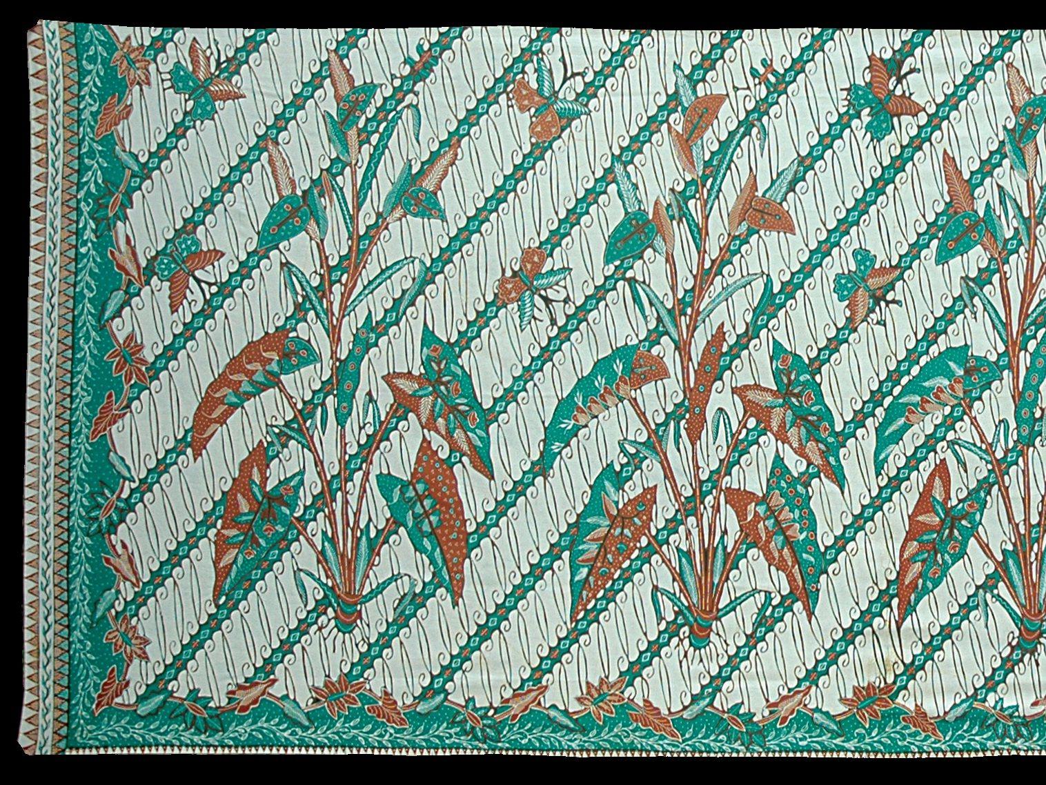 Batik Ciamis motif Rereng Taleus. Ciamis batik is ...