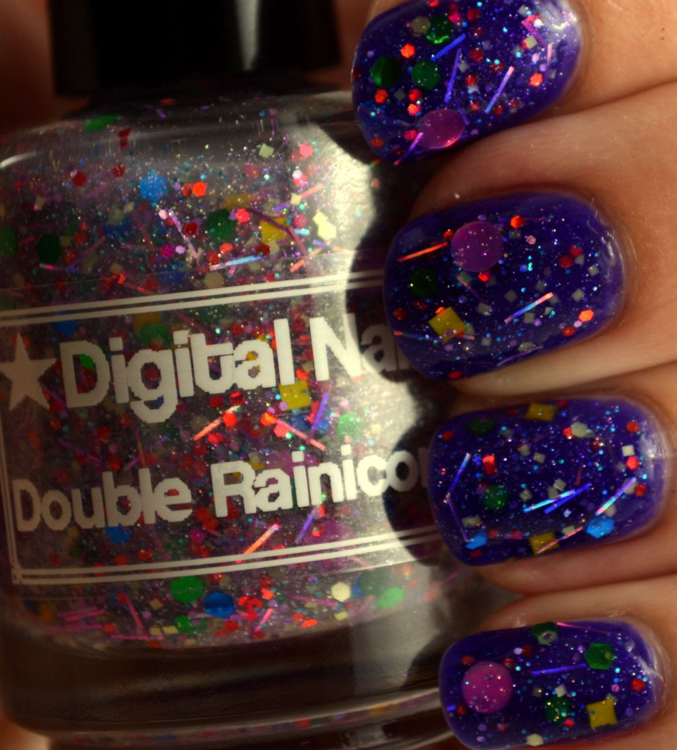Double Rainicorn: a Digital Nails Nail lacquer inspired by Lady ...