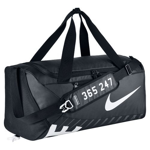 Nike Men's Medium Alpha Adapt Crossbody Training Duffel Bag Black/Black -  Athletic Sport Bags