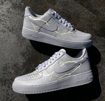 3M Lightning Air Force 1 | Nike shoes air force, Sneakers