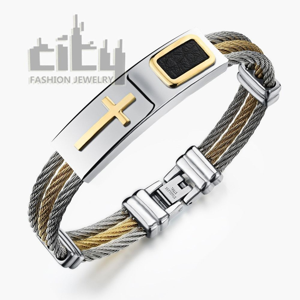 New arriving hot sale fashion jewelry casual steel male classical