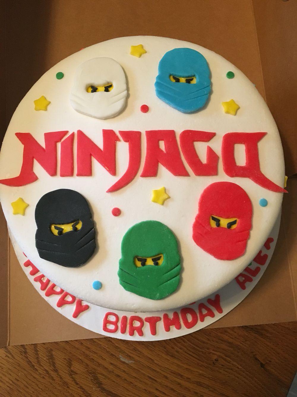 Ninjago birthday cake | My Cakes and Cupcakes | Pinterest ...