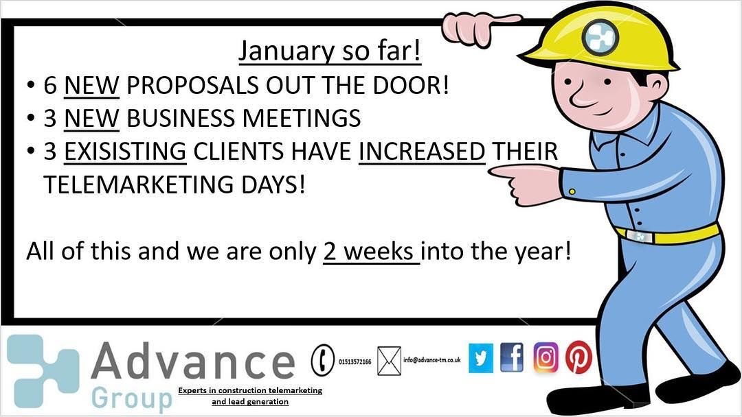 What a great start to the year in the Advance TM Group office! The