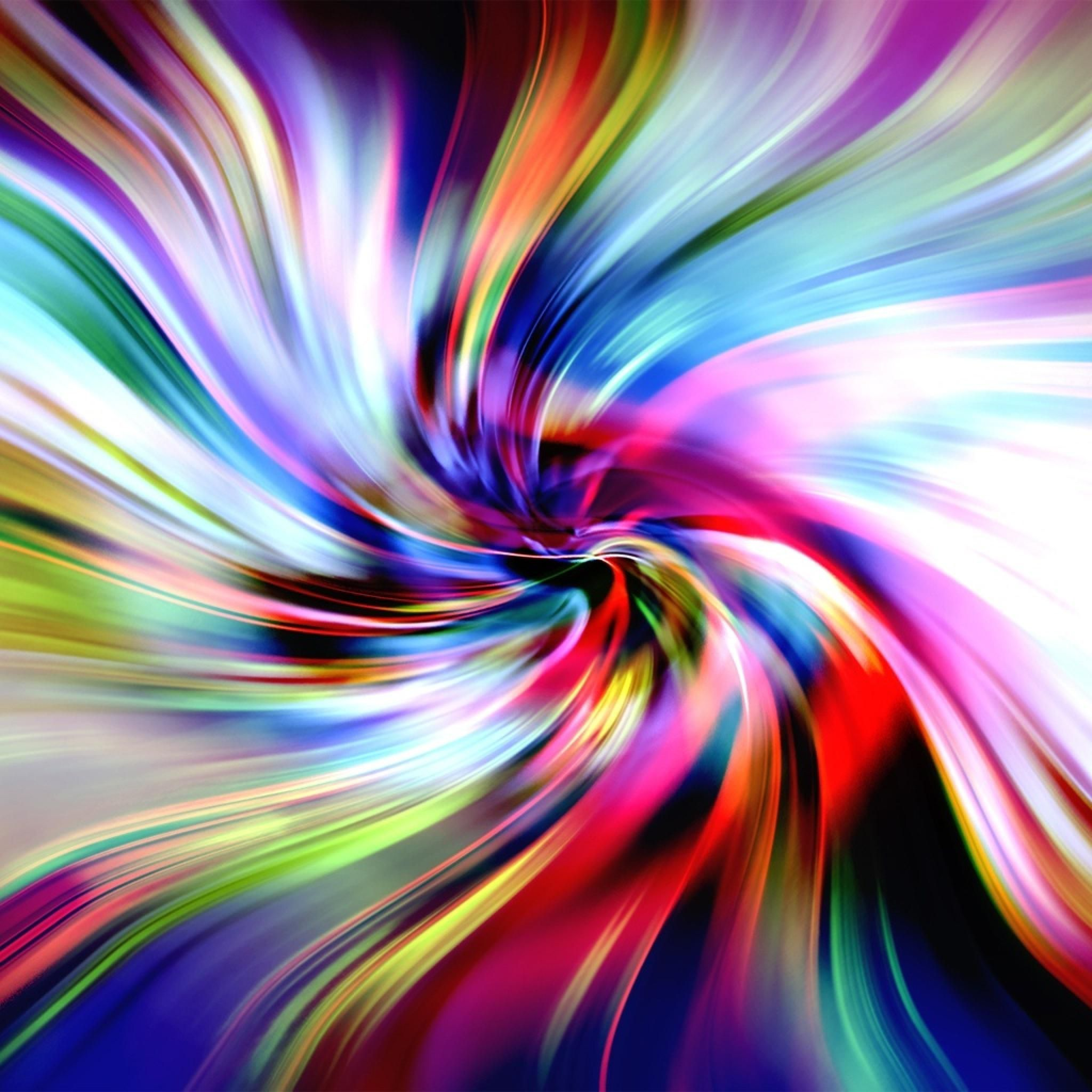 Backgrounds HD Tie Dye Colorful Vortex Swirls Wallpaper