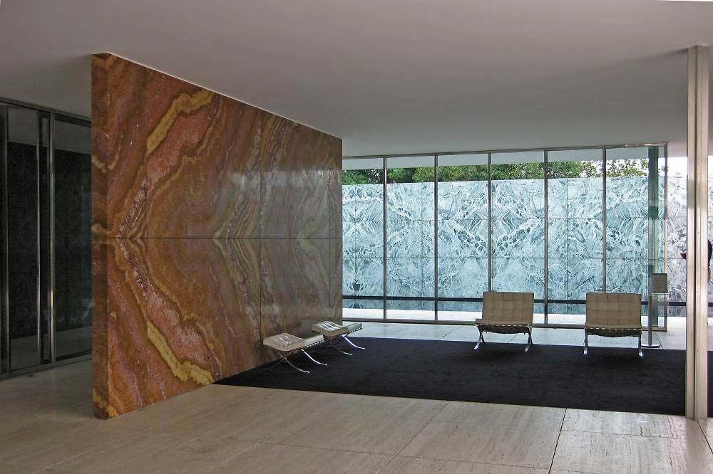 バルセロナ・パビリオン | Architecture | Modern Architecture ...