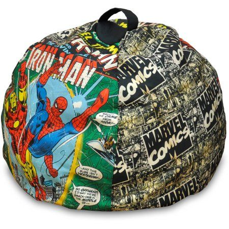 Avengers Bean Bag Chair Folding Rocking Vintage Marvel Spider Man Multicolor Products