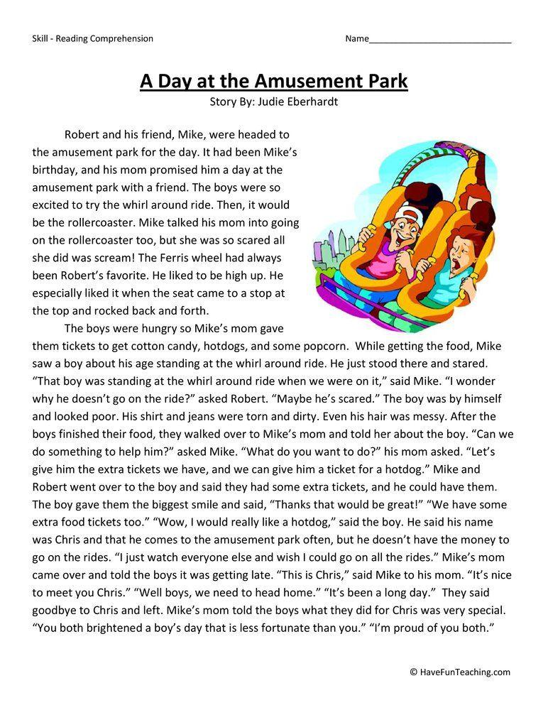 fun at the amusement park essay
