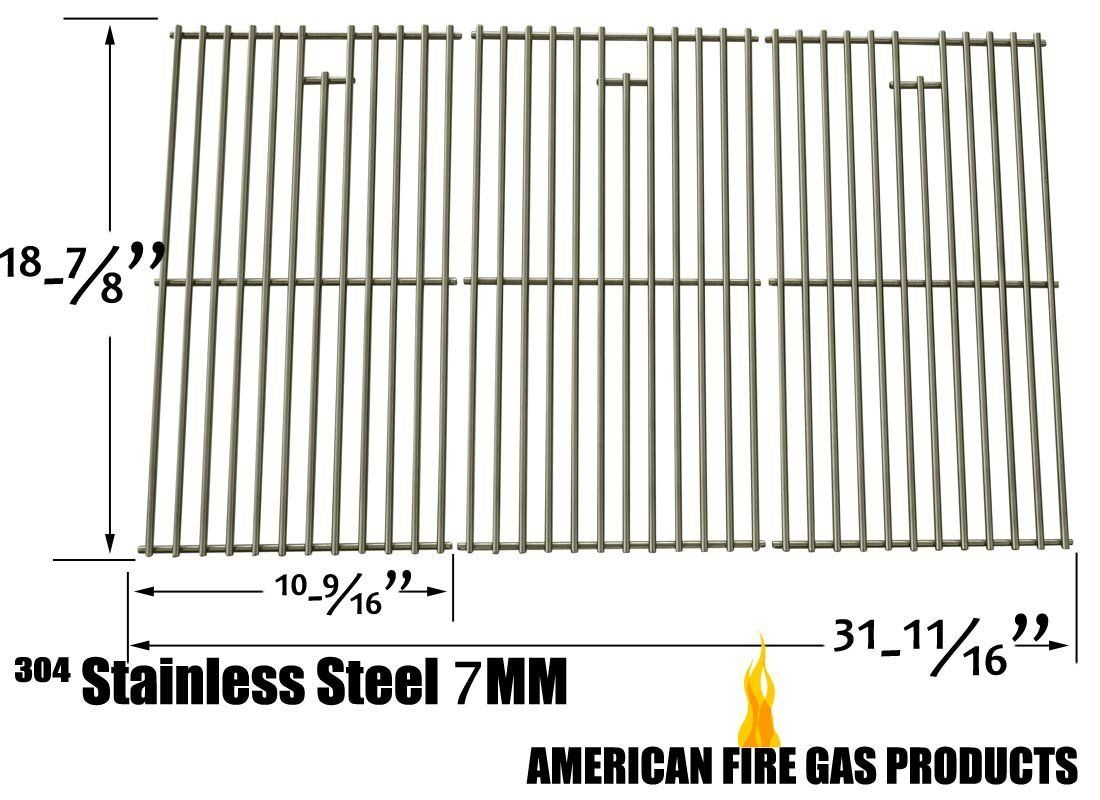 Stainless Steel Cooking Grid for Nexgrill 7200709, 720