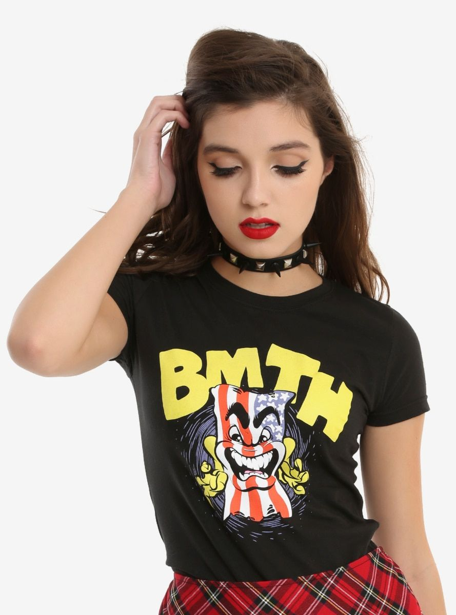 4af47f04f Bring Me The Horizon American Flag Girls T-Shirt in 2019 | Products ...