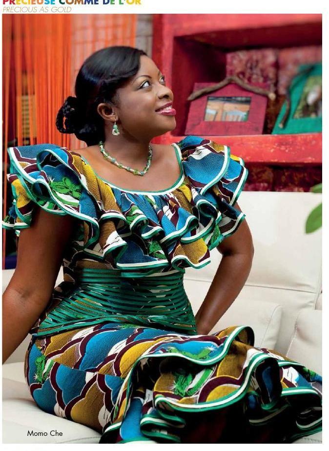 Uniwax mag 14 ok 2 | mado | Pinterest | Robe africaine, Mode Africaine et Tenue africaine