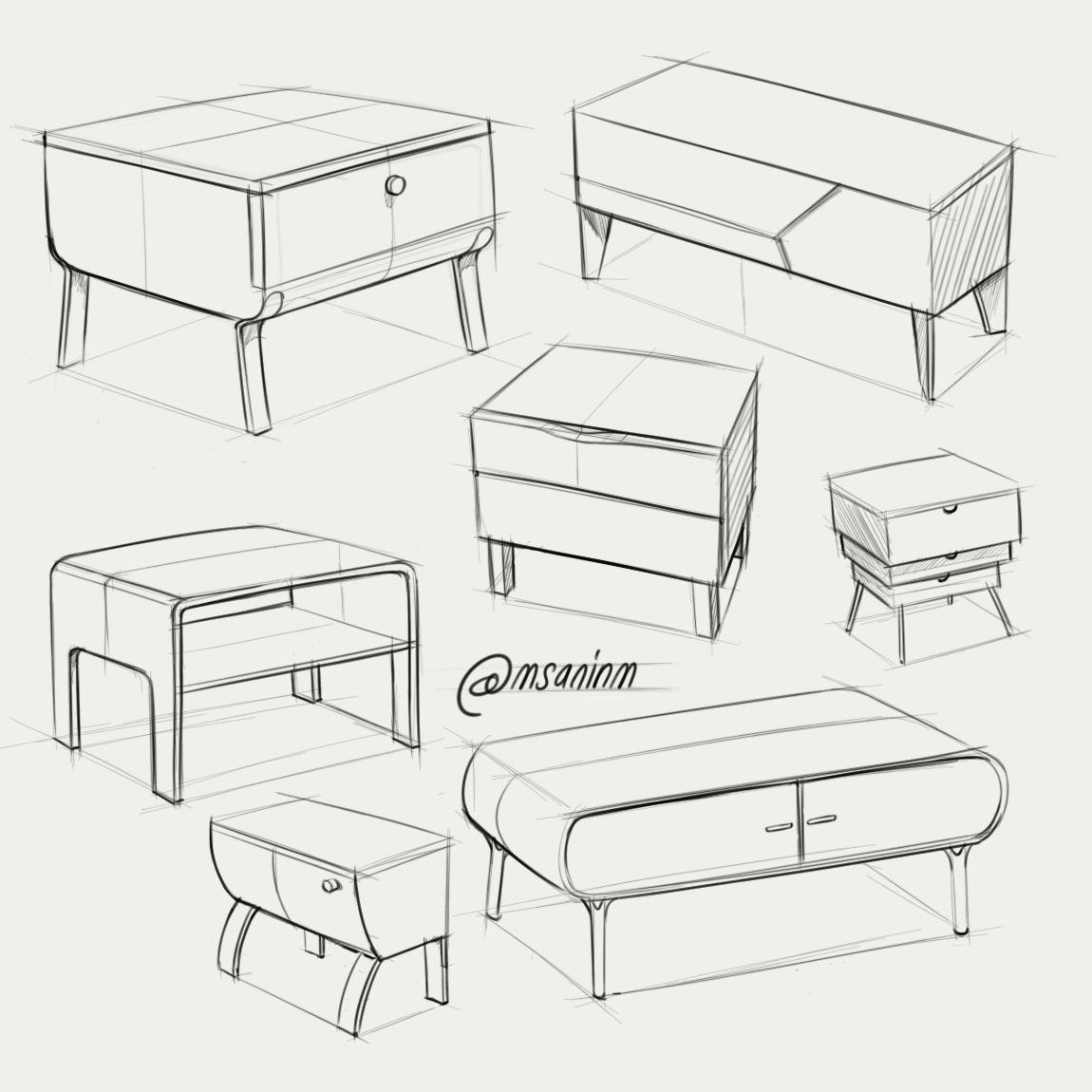 One Point Perspective Bedroom: Digital Sketchbook 2016