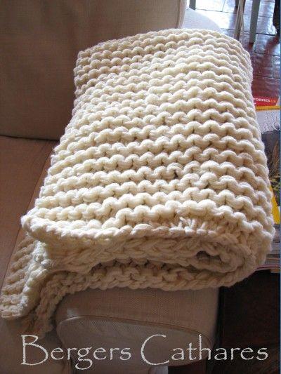 kit tricot plaid