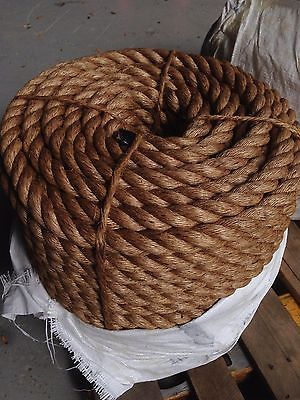 1 1 2 Manila Rope Sold By Foot Nautical Boat Fitness Exercise Boxing Fence Manila Rope Rope Fence Things To Sell