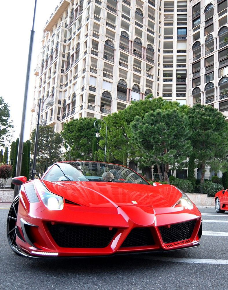 Ferrari 458 Mansory
