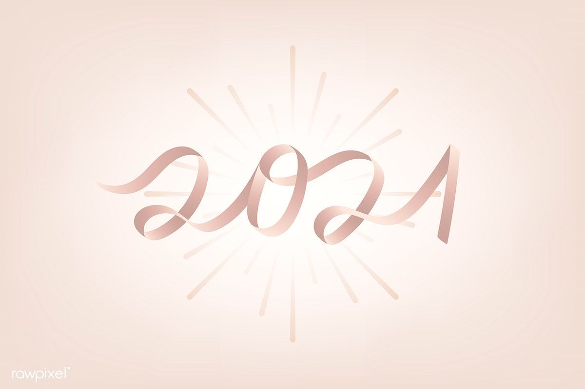 Pink new year 2021 vector | free image by rawpixel.com ...