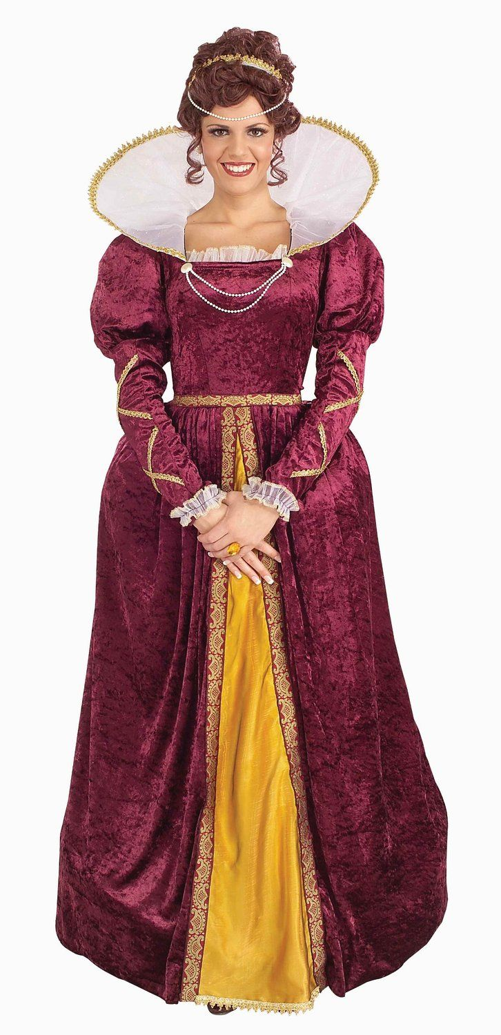 Forum Queen Elizabeth Dress and Crown Costume * Check this awesome ...