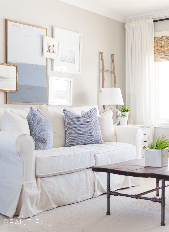 Spring Home Tour   Pinterest   Farmhouse living rooms, Modern ...