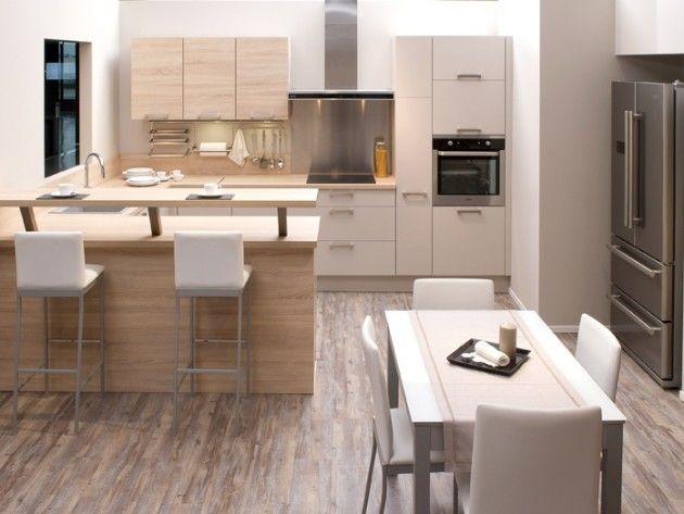 cuisine salle a manger 4 cuisines aviva cuisine ouverte sur salle manger - Amenagement Cuisine Ouverte Avec Salle A Manger