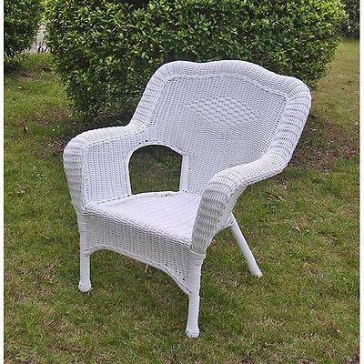 Chairs 79682: International Caravan Camelback Resin Wicker Patio Chairs  (Set Of 2),