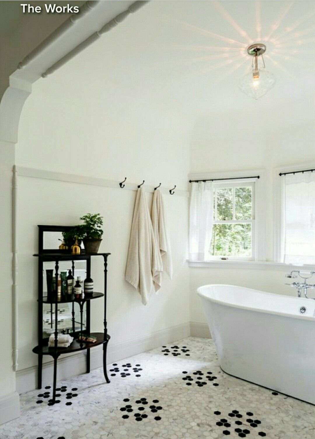 Black in Bathroom Houzz | Art | Pinterest | Houzz