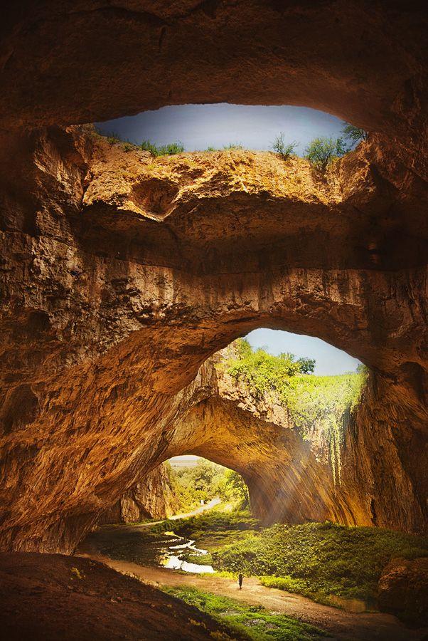 Devetashka cave, Bulgaria  by   Silvia S.