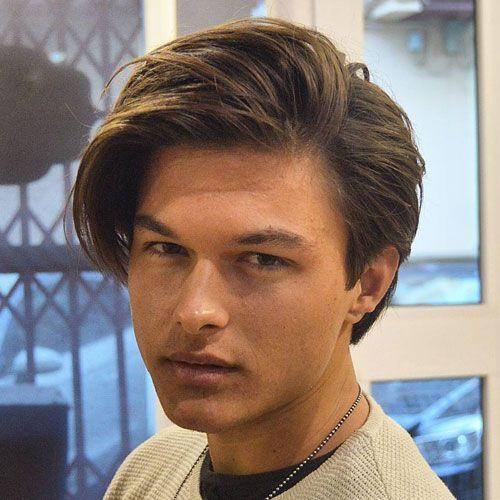 Medium Length Side Part Cool Men S Hairstyles Hair Styles