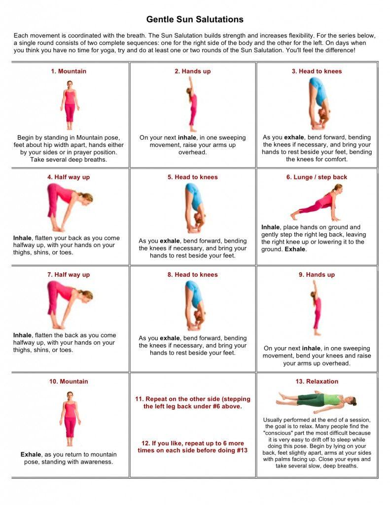 Pin by Alfdubai on Yoga | Yoga fitness, Basic yoga ...
