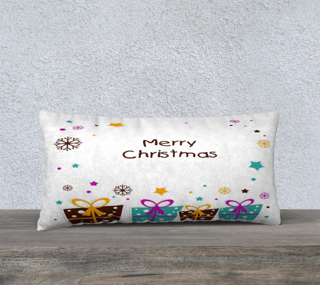Merry Christmas Packages 24 X 12