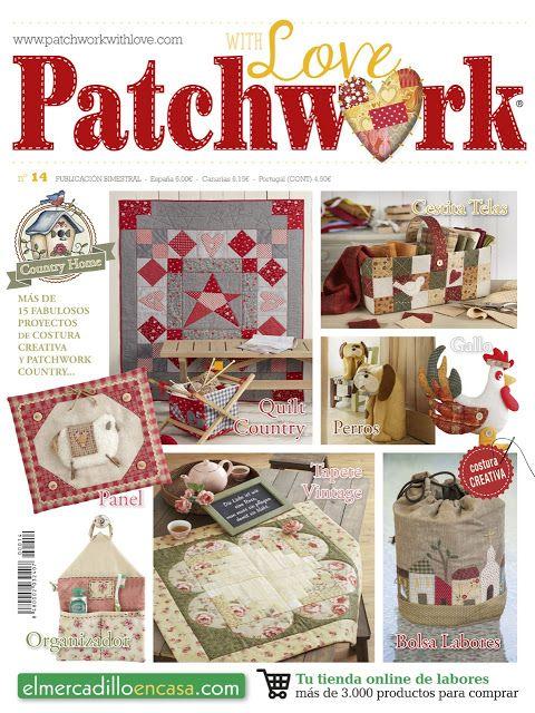Patchwork en Casa - Patchwork with Love | REVISTAS | Pinterest ...