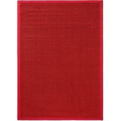 benuta Teppich Sisal Rot 240x340 cm - Naturfaserteppich aus Sisal benuta