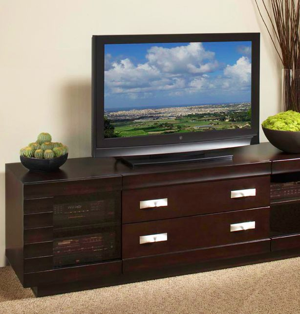 Media Room Storage: Creative Elegance - Cove Entertainment Center