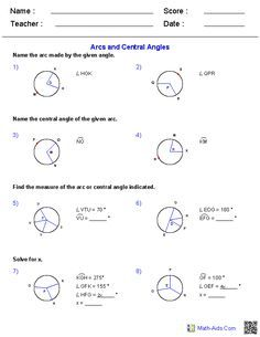 Arcs And Central Angles Worksheet   Lobo Black furthermore Geometry Worksheets   Angles Worksheets for Practice and Study moreover Central Angles and Arcs in Circles Foldable with Graphic Organizer furthermore central angles worksheet – papakambing in addition Quiz   Worksheet   Central and Inscribed Angles   Study together with  moreover ttU as well  moreover 1 Name                                  Pd as well Working with Arcs and Central Angles Worksheets   Math aid moreover Sector Angle Math Central Angles And Arcs In Circles Graphic also Central Angles  Arcs and Chords Worksheet – GeoGe in addition Arc length and Area of Sector Worksheets also 11 Arcs and Central Angles   Kuta Infinite Geometry Name further Central Angle Measure Equals Arc Measure   Expii as well . on arcs and central angles worksheet
