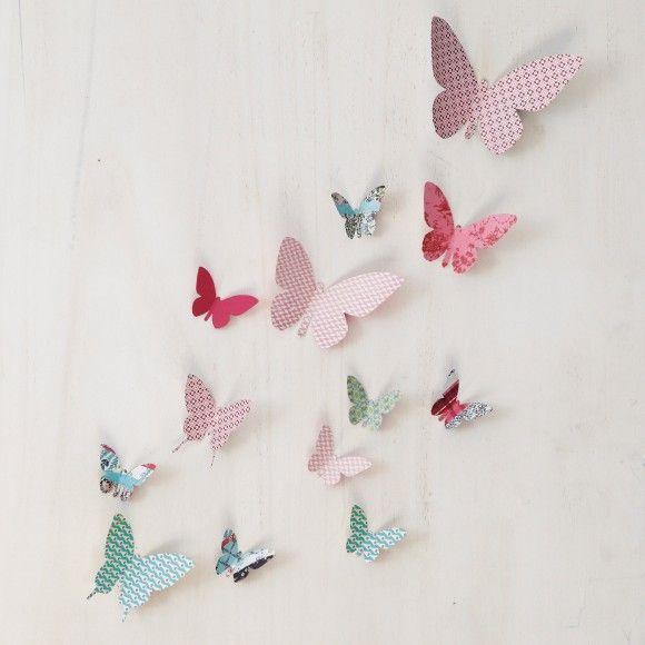 je confectionne des papillons en papier id es pour la maison pinterest papillons en papier. Black Bedroom Furniture Sets. Home Design Ideas