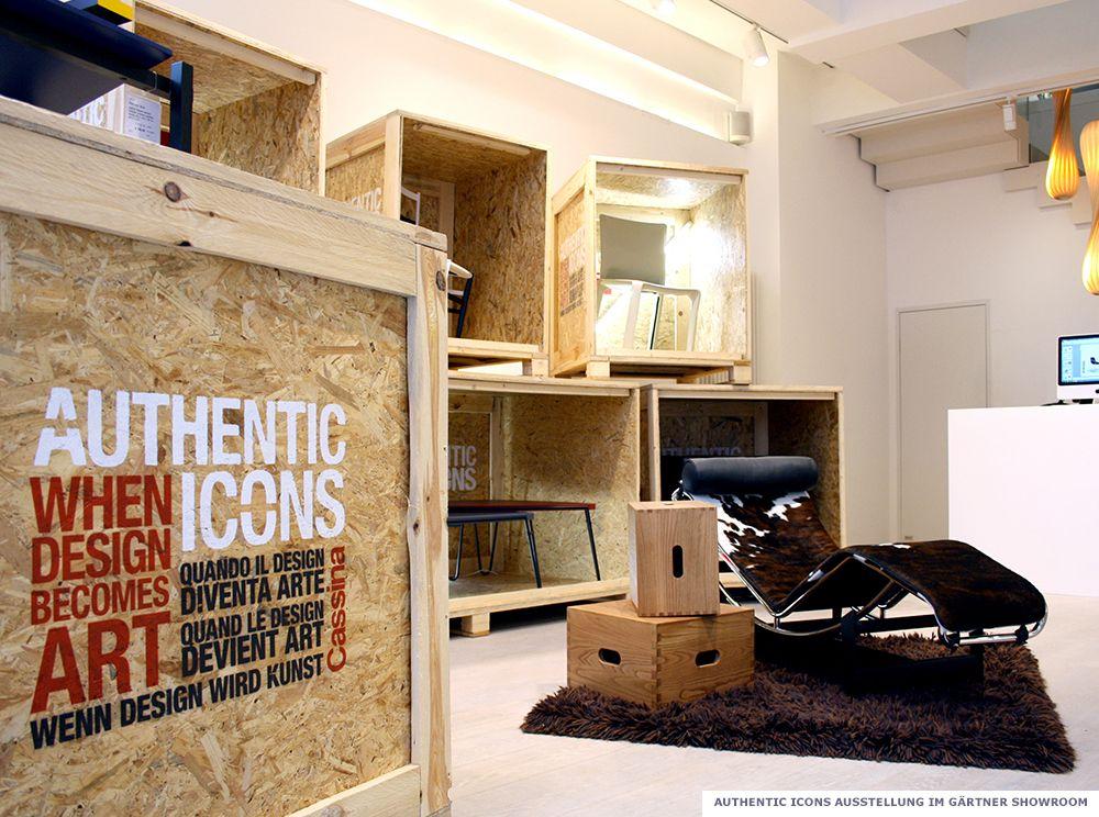 Authentic Icons Ausstellung 2012 - Gärtner Internationale Möbel