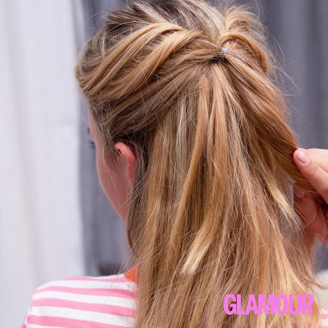FRISUREN-TUTORIAL: Eingedrehte Haare – Blitzfrisuren