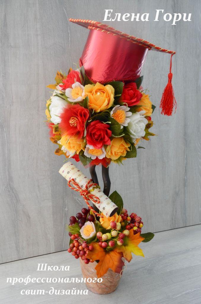 Graduacin arreglo floral areglos pinterest graduacin graduacin arreglo floral thecheapjerseys Image collections