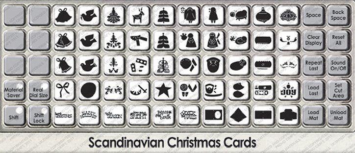 Scandinavian Christmas Cards Cricut Cartridge Scandinavian Christmas Cricut Cartridges Cricut