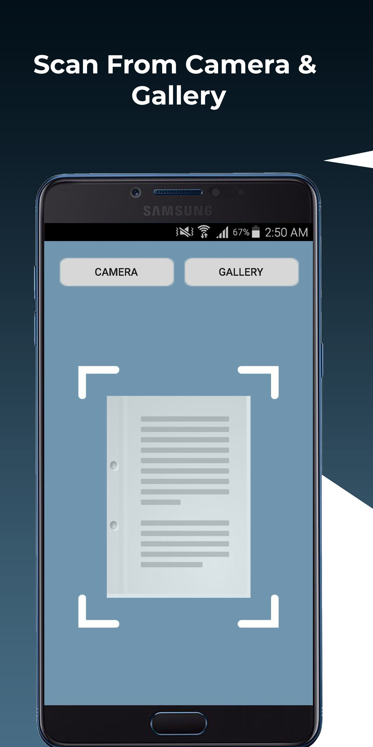 Document scanner app for android free Document scanner