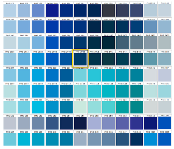 Shades of blue blue colors accent on design blog for Shades of blue colours