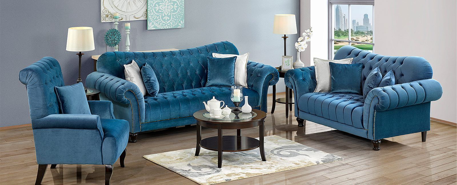 Royal Furniture Dubai Offers Stylish Modern Furniture For Every Room Shop Affordable Contemporary Furniture Including Living Room Furniture Living Room Sofa In 2020