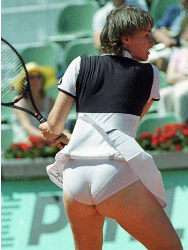 Matchless Martina hingis upskirt ass much necessary