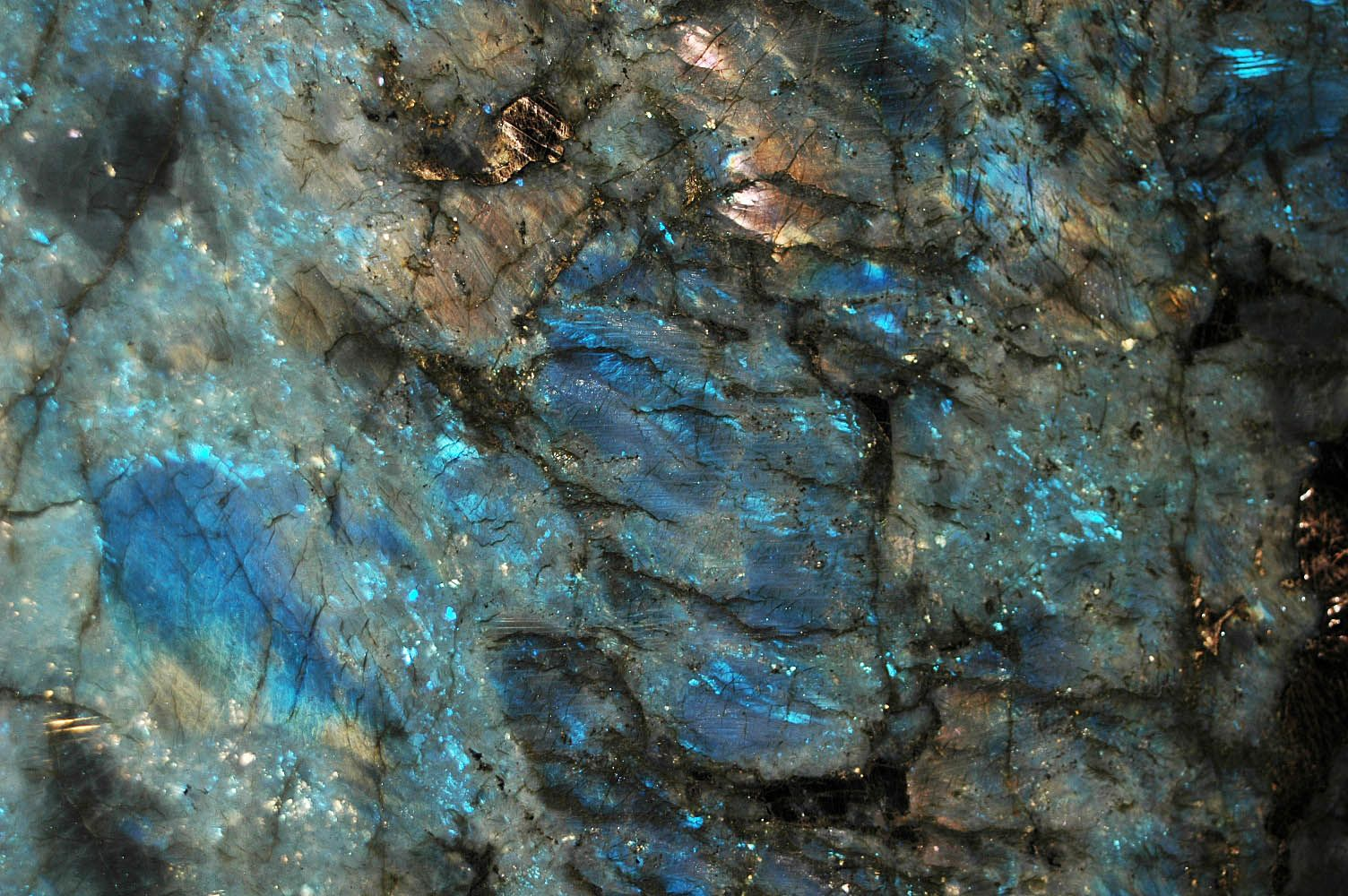 Lemurian Blue Granite closeup | Gimme Those Blues | Pinterest ...