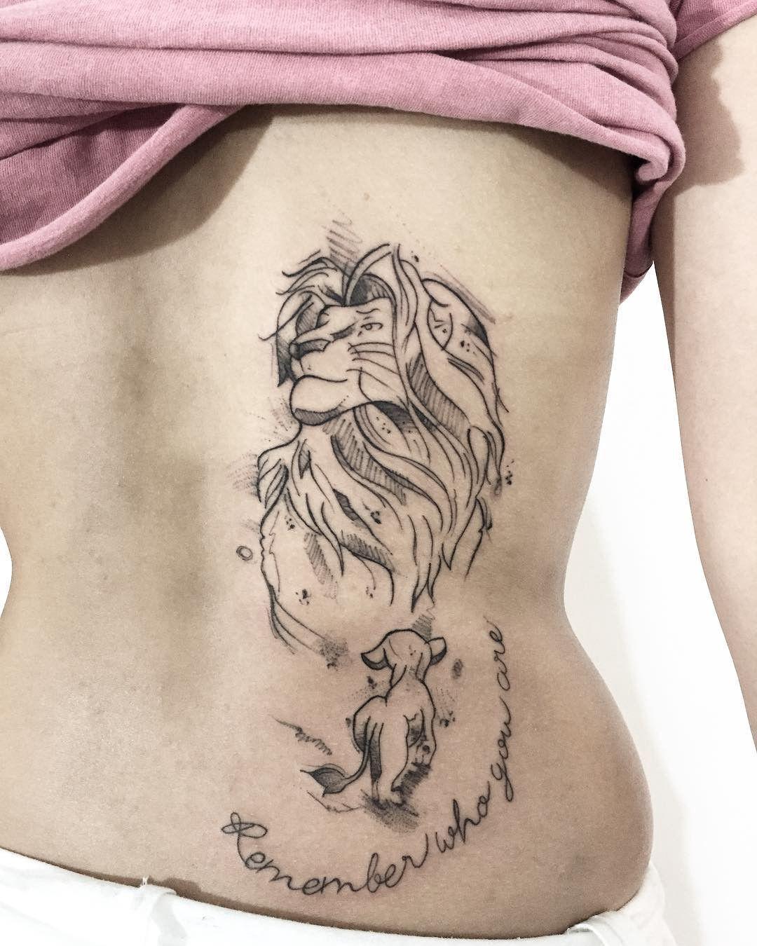Tatuagens do filme Rei Leão: 19 ideias para se apaixonar - Blog Tattoo2me