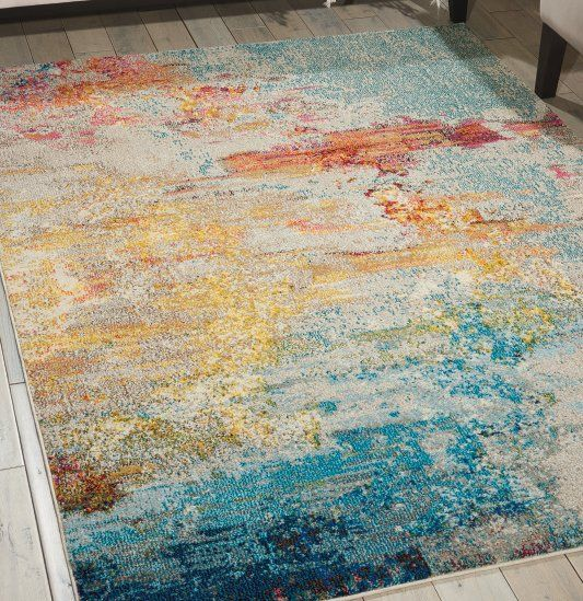 Like C Reefs Along A Sandy Sline This Supremely Breathtaking Barrie Area Rug By Astoria